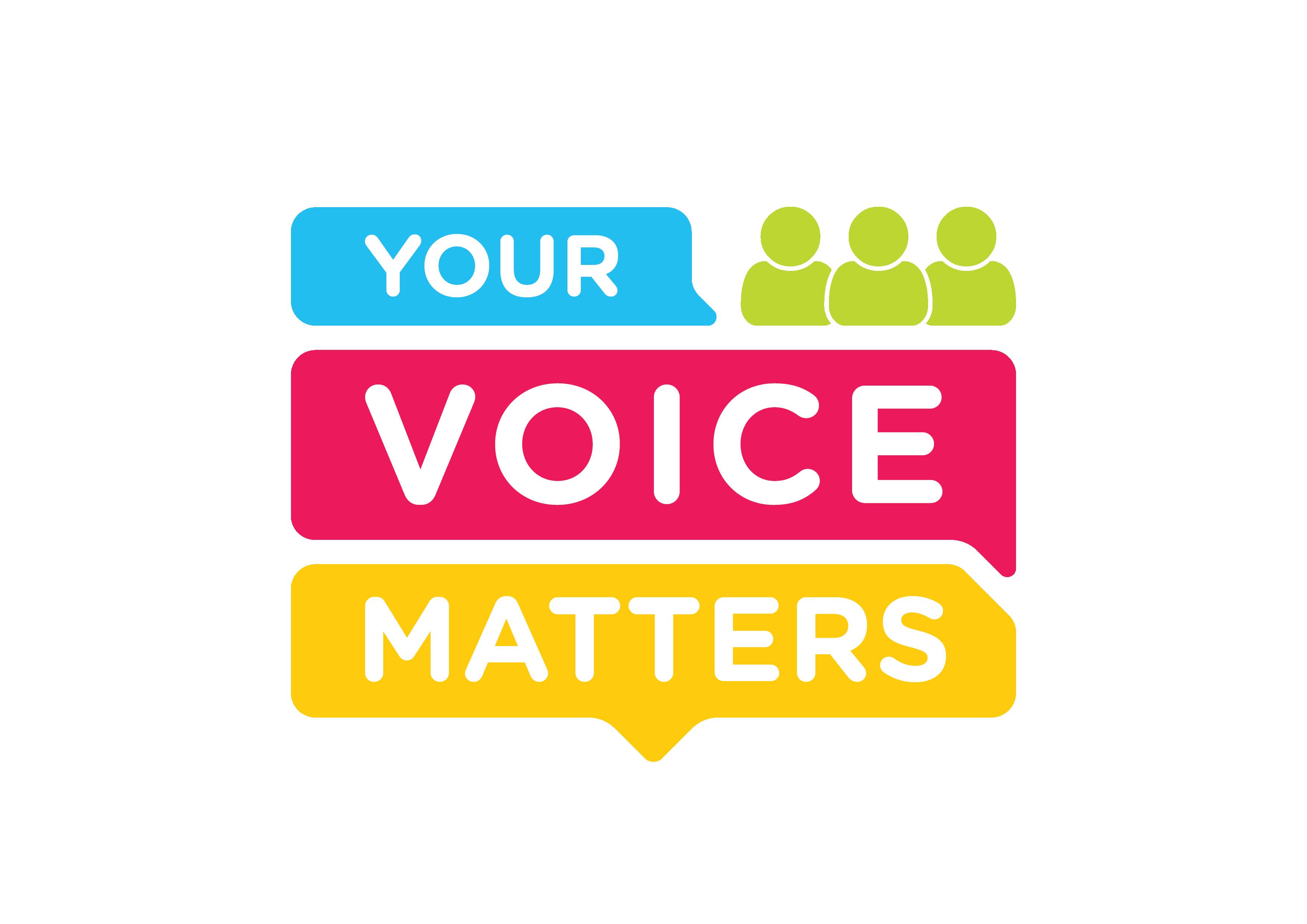 Your Voice Matters Logo