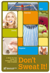 Cover of don't sweat it publication