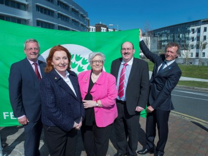 A World First for Cork University Hospital as it raises a Green Flag